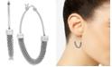 Essentials Mesh Bottom Hoop Earrings