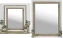 "VIP Home & Garden Rectangular 36"" Wood Mirror"