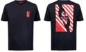 HUGO Men's World Logo Graphic T-Shirt