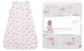 aden by aden + anais Baby Girls Briar Rose Printed Cotton Sleeping Bag