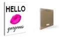 "Stupell Industries Home Decor Lulusimonstudio Hello Gorgeous Wall Plaque Art, 12.5"" x 18.5"""