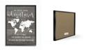 "Stupell Industries Take Adventures Map Framed Giclee Art, 16"" x 20"""