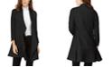 Anne Klein Cascade-Collar Topper Jacket