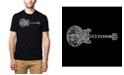 LA Pop Art Men's Premium Word Art T-Shirt - Blues Legends