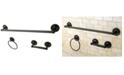 Kingston Brass Concord 3-Pc. Bathroom Accessories Combo in Oil Rubbed Bronze