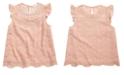 Monteau Big Girls Embellished Lace Top