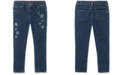 Tommy Hilfiger Toddler Girls Glitter-Star Skinny Jeans