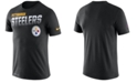 Nike Men's Pittsburgh Steelers Sideline Legend Line of Scrimmage T-Shirt
