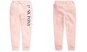 Polo Ralph Lauren Big Girls Pink Pony Fleece Pants
