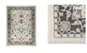 """Shabby Chic New Weave Paige Ivory 1'8"""" x 2'8"""" Area Rug"""
