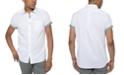 Kenneth Cole Men's Contrast Top-Stitch Shirt