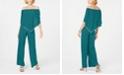 MSK Off-The-Shoulder Overlay Jumpsuit