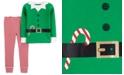 Carter's Toddler Boys 2-Pc. Cotton Elf Pajama Set