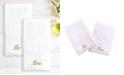 "Linum Home 100% Turkish Cotton ""Mr."" and ""Mrs."" 2-Pc. Hand Towel Set"