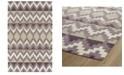 "Kaleen Lakota LKT03-95 Purple 5' x 7'9"" Area Rug"