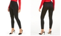 INC International Concepts I.N.C Seamless Embossed Animal-Print Leggings, Created For Macy's