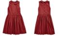 Polo Ralph Lauren Big Girls Plaid Cotton Poplin Dress