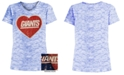 5th & Ocean Big Girls New York Giants Heart Flip Sequin T-Shirt