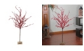 """Northlight 50"""" Festive Red Berries Artificial Christmas Tree Decoration - Unlit"""