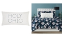 """Christian Siriano New York Christian Siriano Mags Floral Holy Chic 32"""" x 16"""" Decorative Pillow"""