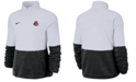 Nike Women's Ohio State Buckeyes Therma Long Sleeve Quarter-Zip Pullover