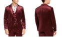 INC International Concepts I.N.C. Men's Big & Tall Shiny Velvet Blazer, Created For Macy's