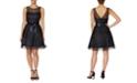 Betsey Johnson Polka Dot Illusion Dress