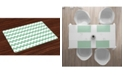 Ambesonne Mint Place Mats, Set of 4