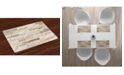 Ambesonne Ivory Place Mats, Set of 4
