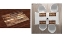 Ambesonne Wooden Place Mats, Set of 4