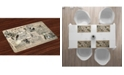 Ambesonne Clock Place Mats, Set of 4