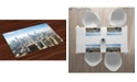 Ambesonne Cityscape Place Mats, Set of 4