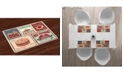 Ambesonne Retro Place Mats, Set of 4