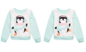 Evy of California Toddler Girls Chill Penguin Sweatshirt