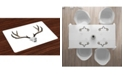 Ambesonne Antlers Place Mats, Set of 4
