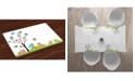 Ambesonne Easter Place Mats, Set of 4