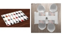 Ambesonne Guitar Place Mats, Set of 4