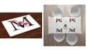 Ambesonne Letter M Place Mats, Set of 4
