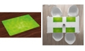 Ambesonne Lime Green Place Mats, Set of 4