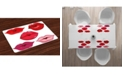 Ambesonne Kiss Place Mats, Set of 4
