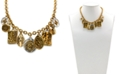 "Patricia Nash Two-Tone Travel Charm 20"" Strand Necklace"