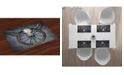 Ambesonne Barn Wood Wagon Wheel Place Mats, Set of 4