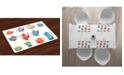 Ambesonne Tea Party Place Mats, Set of 4