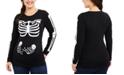 Motherhood Maternity Skeleton Twins Graphic Tee