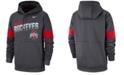 Nike Men's Ohio State Buckeyes Therma Sideline Hooded Sweatshirt