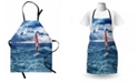 Ambesonne Ride the Wave Apron