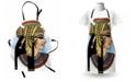 Ambesonne Egyptian Apron