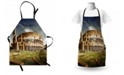 Ambesonne the Colosseum Apron