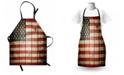Ambesonne American Flag Apron