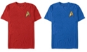 Fifth Sun Star Trek Men's Original Series Command Badge Costume Short Sleeve T-Shirt